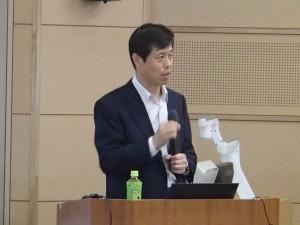 長崎大学蒋教授による講義の様子