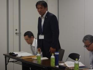 司会進行を執り行って下さる木村課長補佐様、坂井係長様